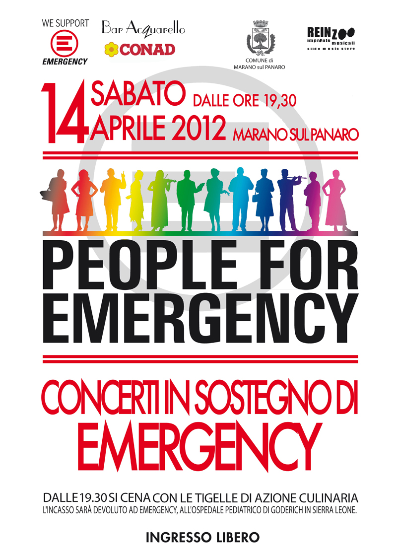 People for Emergency 2012