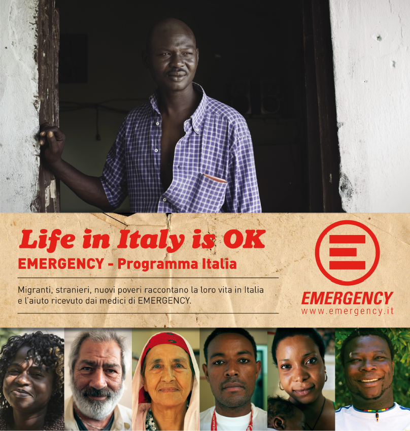 LIFE IN ITALY IS OK - EMERGENCY