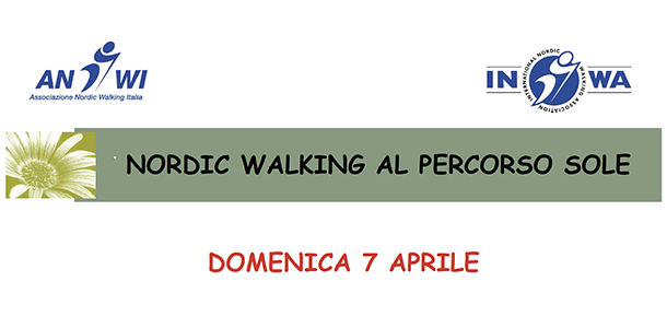 NORDIC WALKING AL PERCORSO SOLE