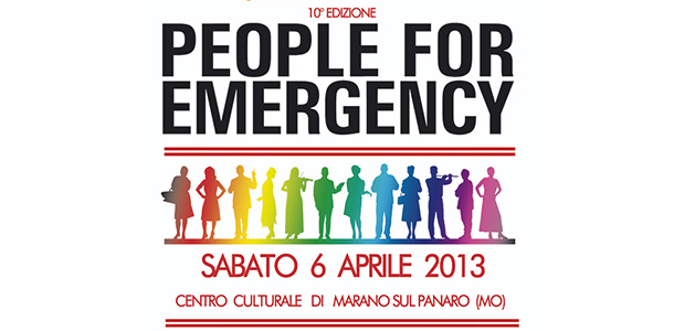 People for Emergency 2013, Anteprima di Giuseppe