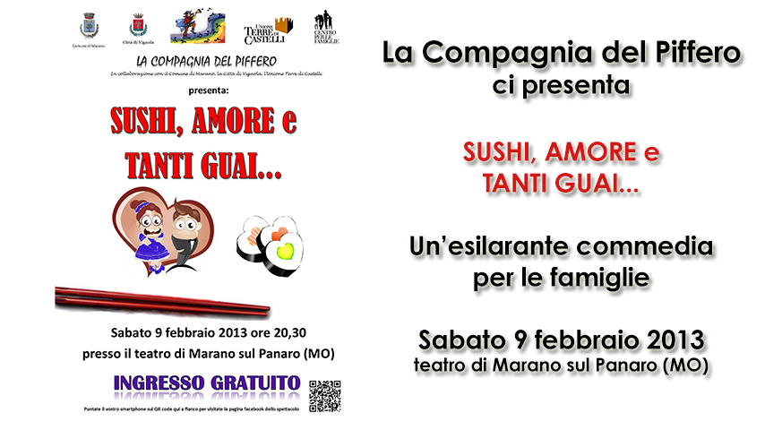 SUSHI, AMORE e TANTI GUAI...