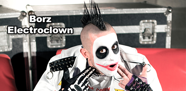 Borz, Electroclown ci presenta il suo primo album: 